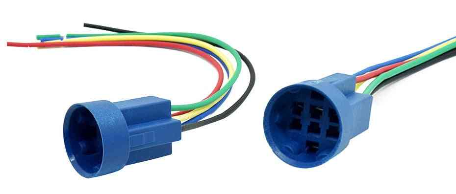 Wire Harness Connector For 19mm Selector Rotary Key Switch