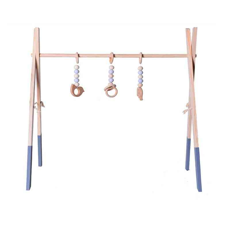 Foldable, Wooden, Play Activity Gym Frame