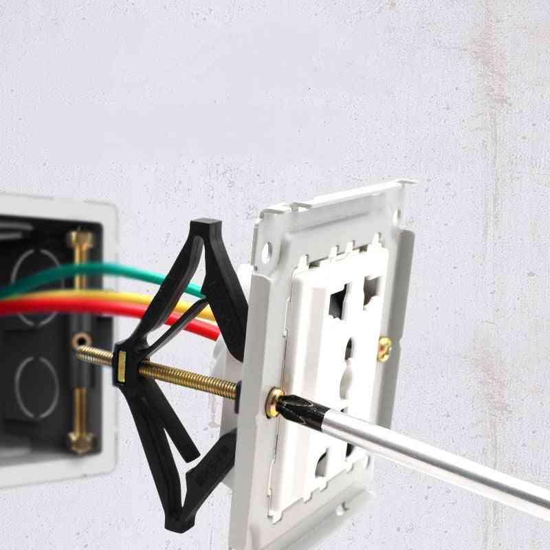 Wall Socket Bottom Box, Repair Device Type Switch