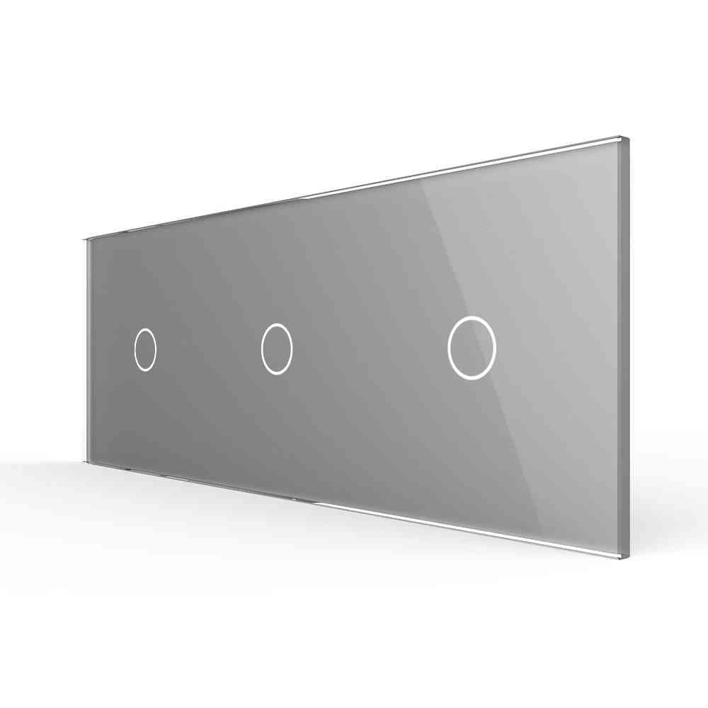 Triple Glass Panel For Wall Switch
