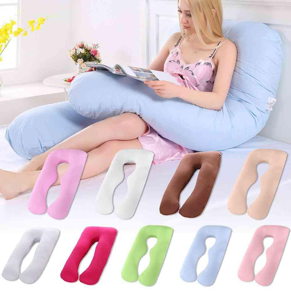 Multifunctional Full Body, U-shape Pillowcase For Pregnant