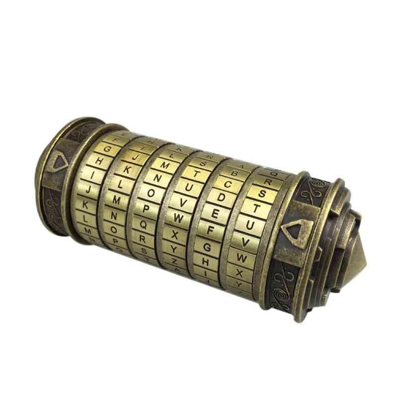 Metal Cryptex Locks Code -toy