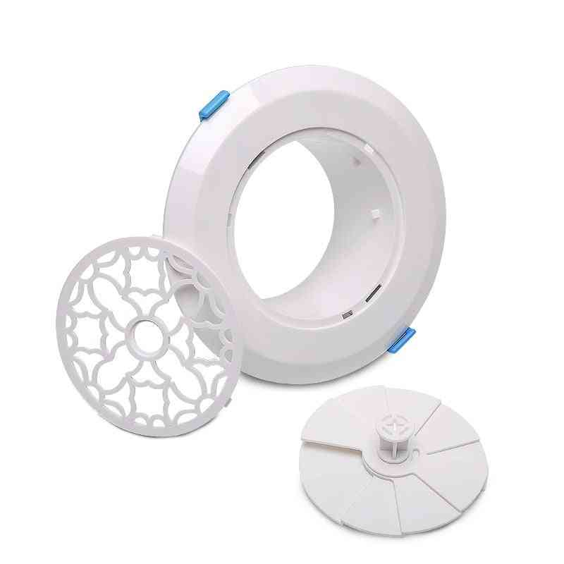 Adjustable Louver Air Vent Extract Valve Grille - Round Diffuser Ducting Ventilation Cover