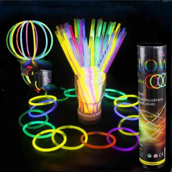 Led Light Glowing, Fluorescent Stick For Wedding/party/event/festival