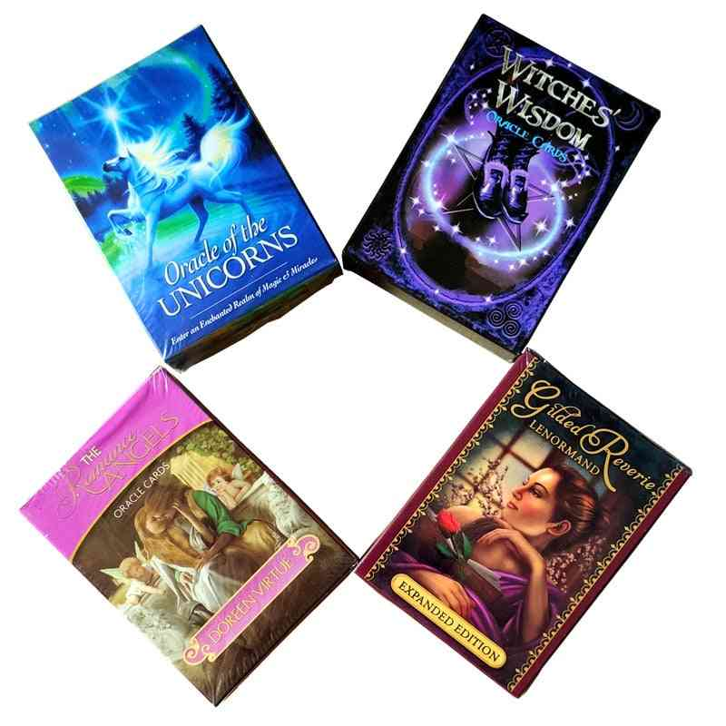 New Read Fate Lenormand Oracle Cards, Mysterious Fortune Tarot Cards, Game For Divination