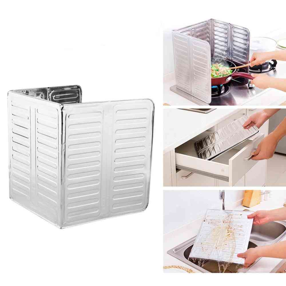 Foldable Aluminum Foil For Cooking Surfaces, Counters, Walls And Floors- Free From Grease Splatters