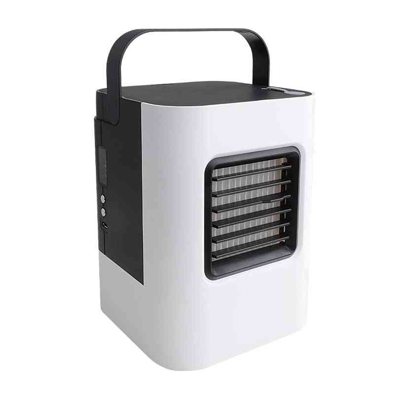 Air Conditioner Fan 3 In 1- Small, Personal Usb Air Cooler, Desk Fan