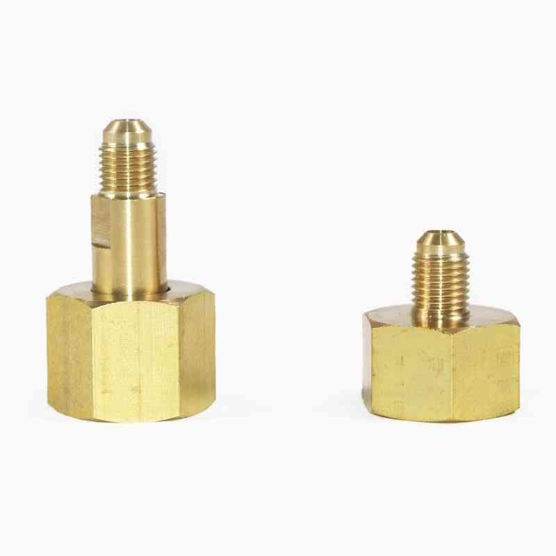 Brass Fitting Air Conditioning, Nitrogen Bottle Adapter, Fluorine Pipe Cap