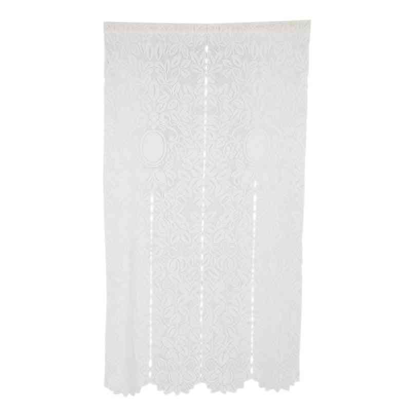 Mesh-blend Textured Curtains, Durable Fabric - Adds Subtle Texture