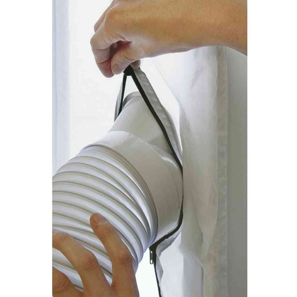 Window Sealing For Mobile Air Conditioners - Dryers And Exhaust