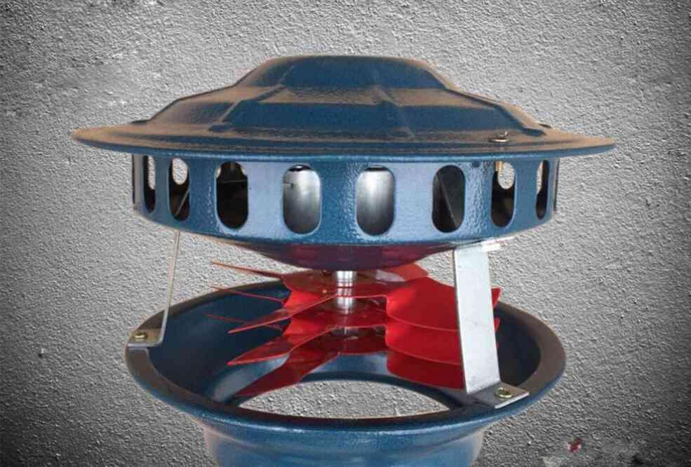 Induced Draft Fan Exhaust Household Smoke Machine