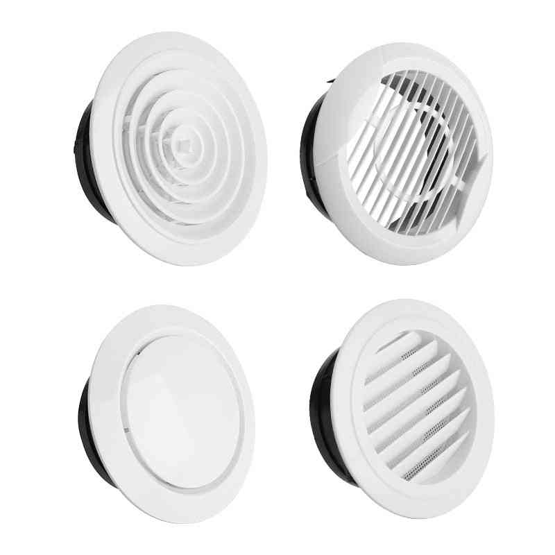 Adjustable Air Ventilation Cover, Round Ducting Ceiling Wall Hole