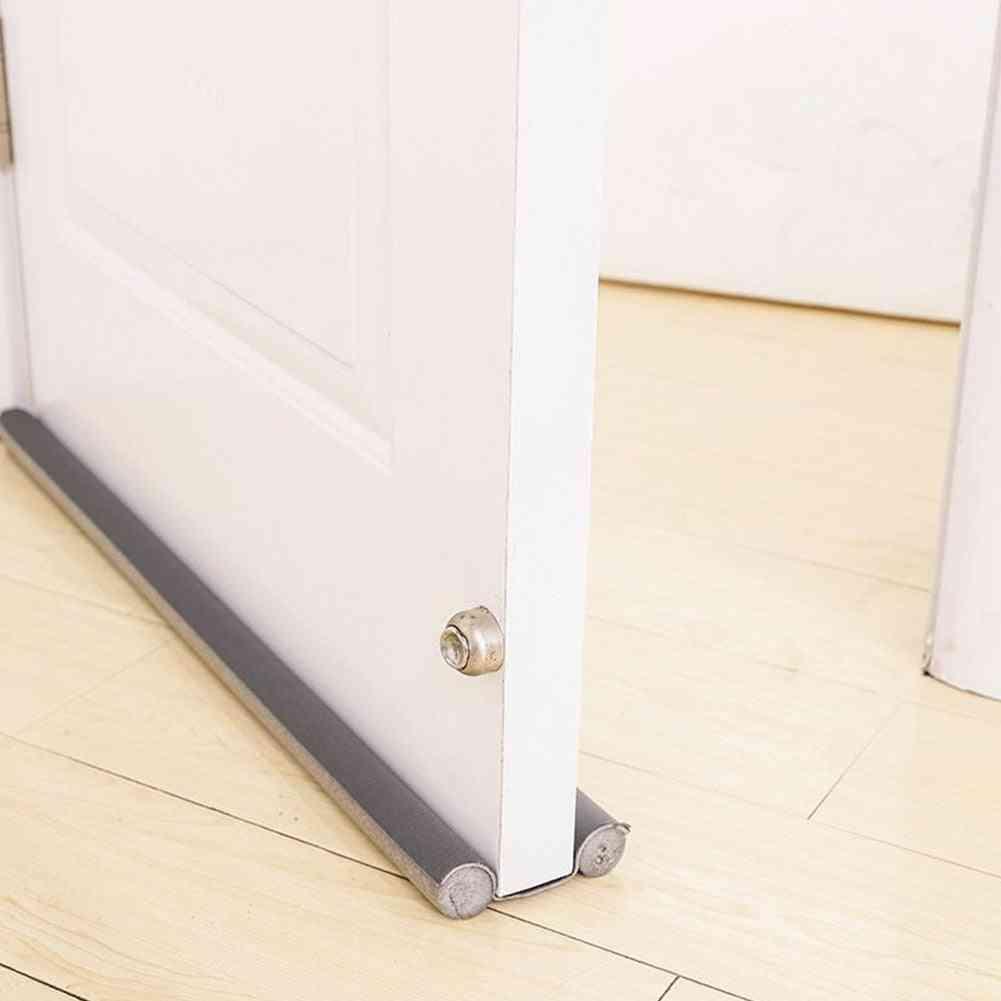 Tight Windproof Noise Reduction Soundproof Protector Insulator Door Draft Stopper, Flexible Anti-dust Bottom Sealing Strip Window