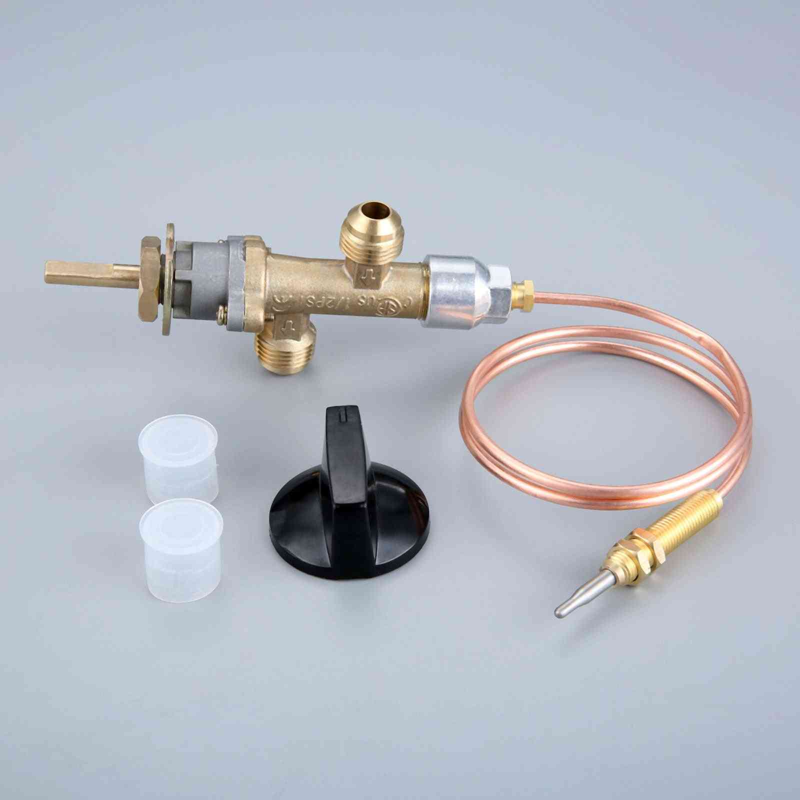 Gas Control Valve With Thermocouple And Knob Switch