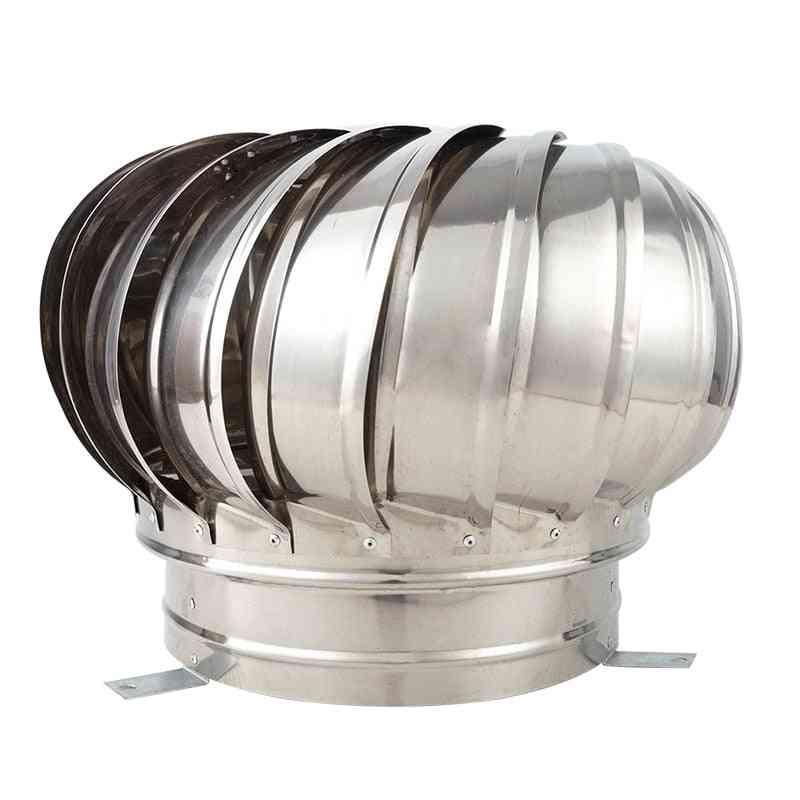 304 Stainless Steel Roof Ventilator - Wind Turbines Pipefit Roof Fan