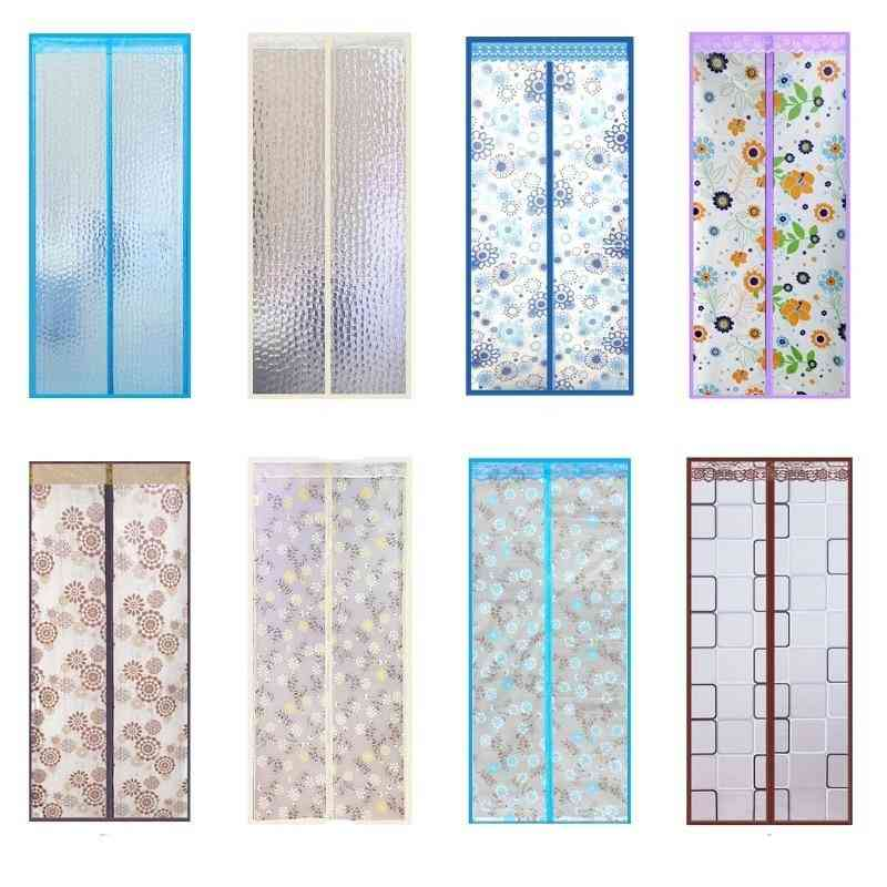 Magnetic Thermal Insulated Door Curtain For Air Conditioner Room