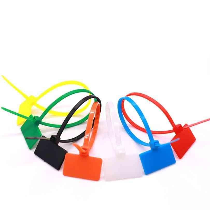 Easy Mark 4*150mm Nylon Cable Ties -self-locking Zip