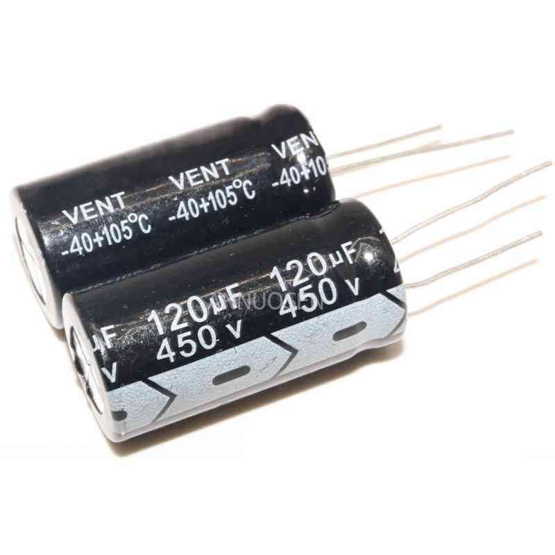 Electrolytic Capacitors 450v 120uf