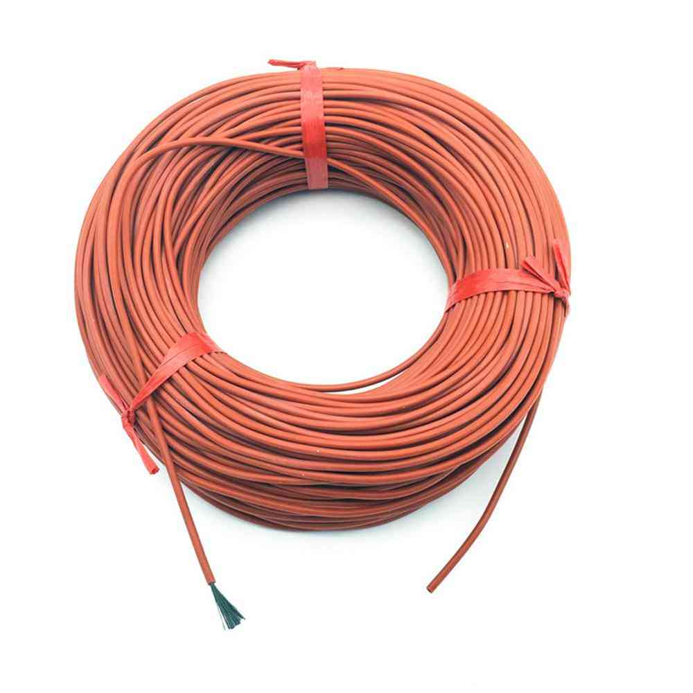 Silicone Rubber Heating Cables - Floor Silica Gel Carbon Fiber Wire Farm Fittings