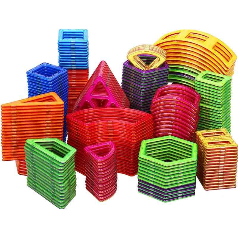 Big Size Magnetic Designer Construction Set-block Model & Magnet Toy