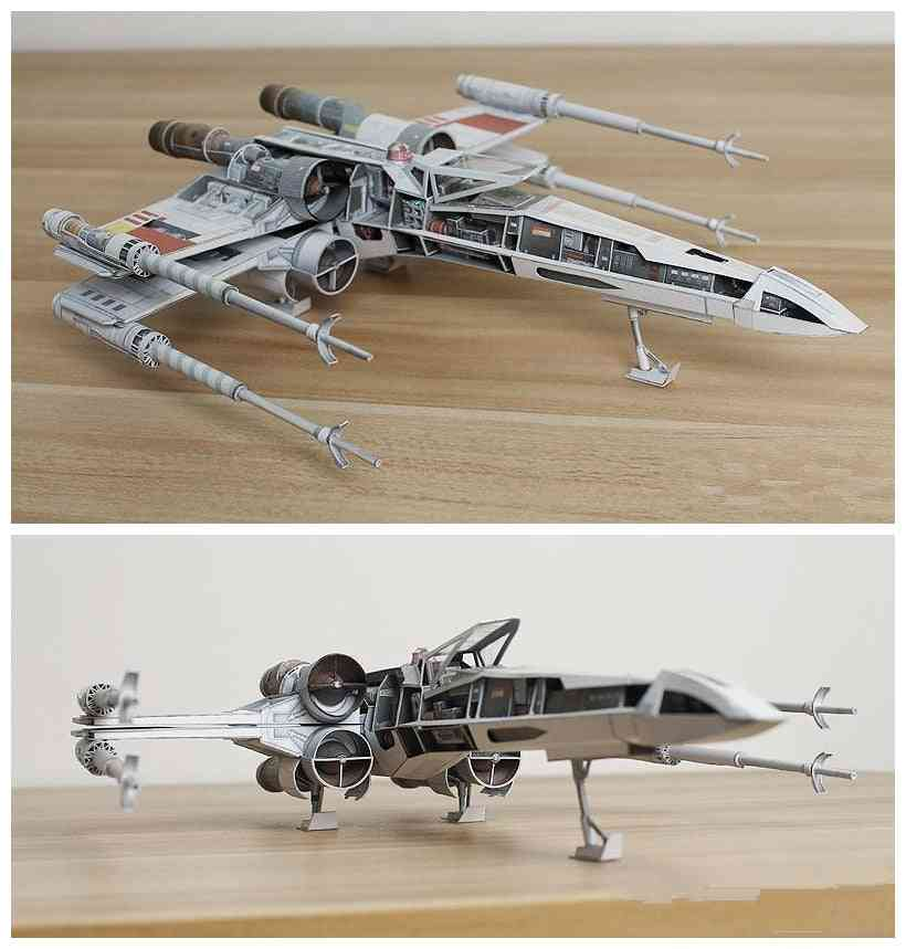 Starfighter Handcraft Paper Model- Handmade
