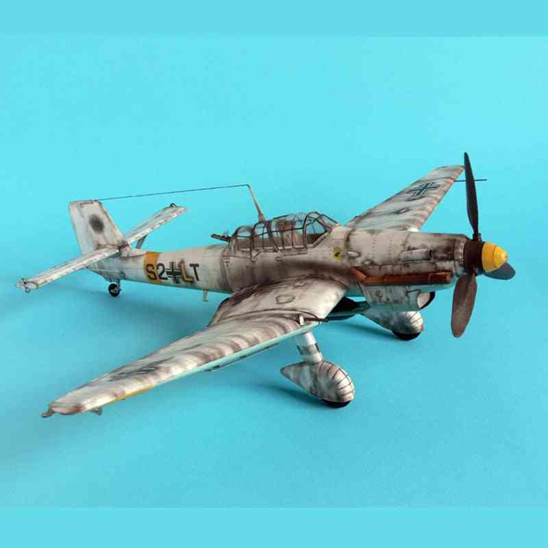 3d Paper, Bomber Aircraft Model - Space For