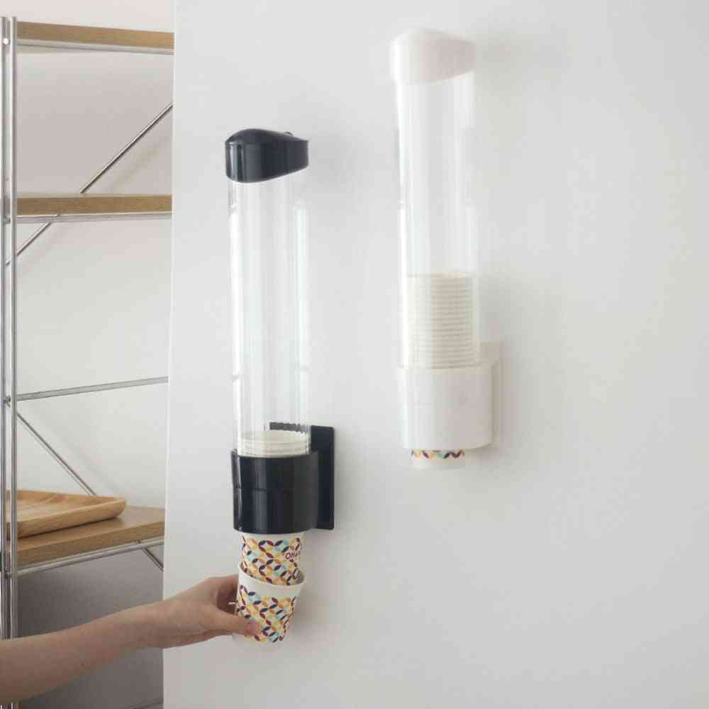 Automatic Holder Dustproof Free Punching Paper Cup Rack