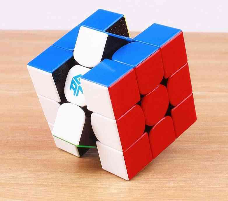 3x3x3 Stickerless Speed Cube  - Professional Puzzle Toy For Kids
