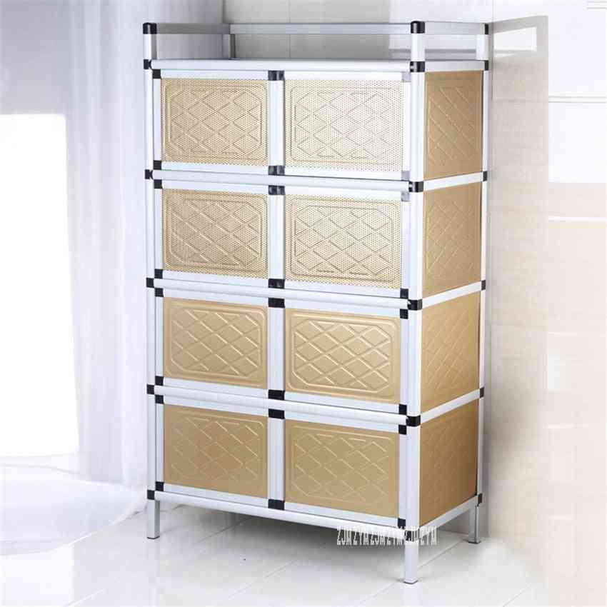 Home Aluminum Alloy Sideboard, Storage Cabinet