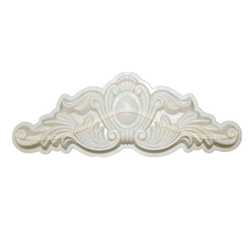 Abs Chrysanthemum Petal Precast- Home Decoration Outer Wall Decoration