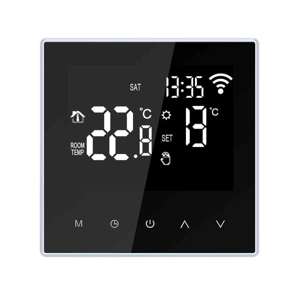 Wifi Smart Digital Thermostat-lcd Touch Screen, Temperature Controller