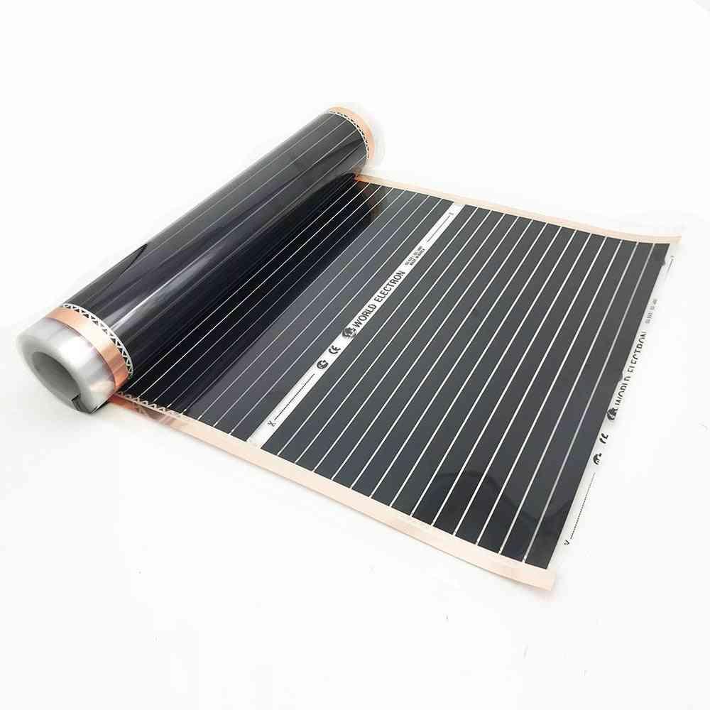 Carbon Infrared Floor Heating Films