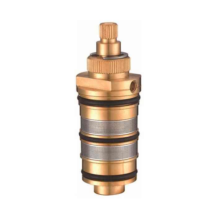 1pcs Thermostatic Valve Faucet Cartridge - Bath Mixing Water Temperature Tap Shower
