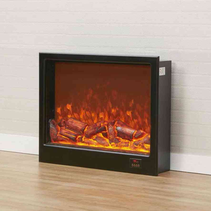 Electric Fireplace- Led Reflection Chimney Burner, Artificial Flame Decoration