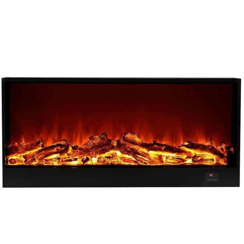 Electric Fireplace Firebox - Insert Burner Room Heater