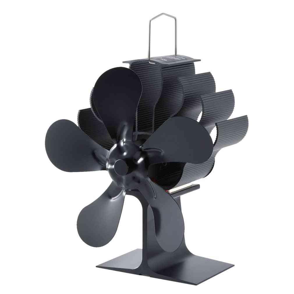 Wood Burning Real Power - Energy Saving Thermal Power Fireplace Fan