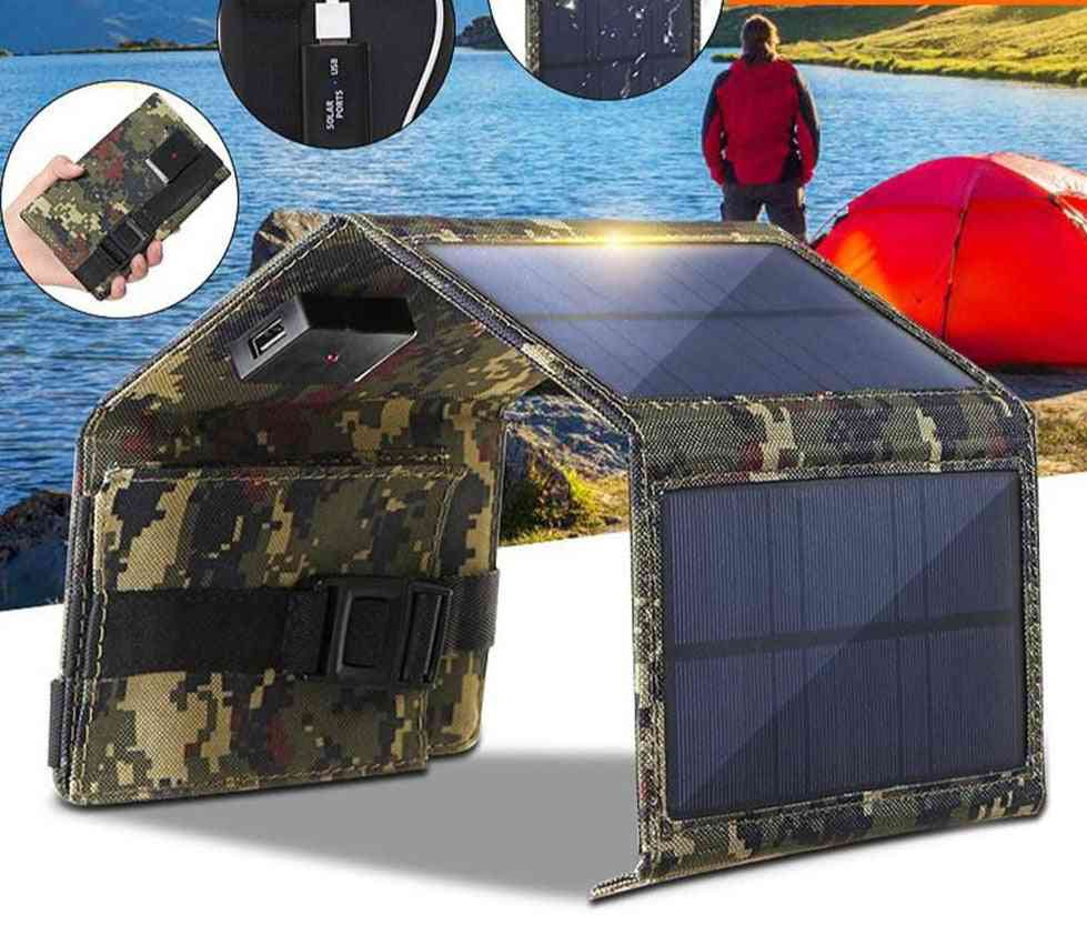 20w 4 Folding Solar Charger Panel