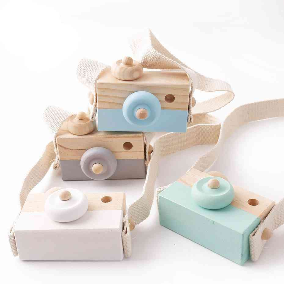 Wooden, Fashion Camera - Montessori Toy For