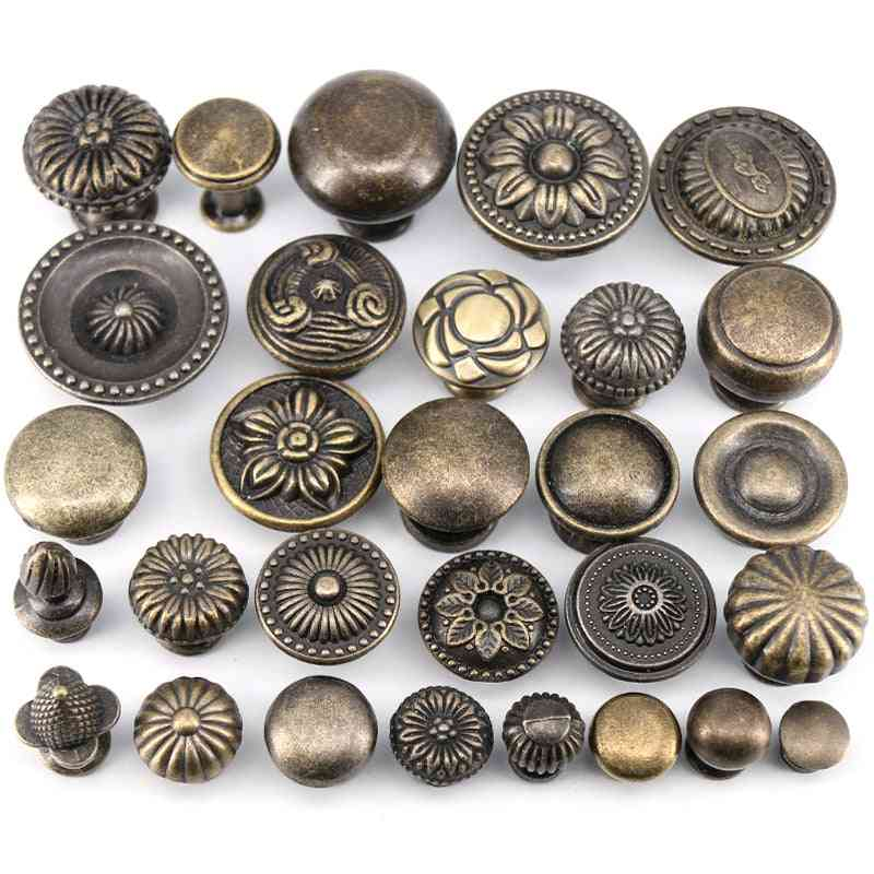 Antique Bronze For Kitchen, Cabinet Drawer Knobs
