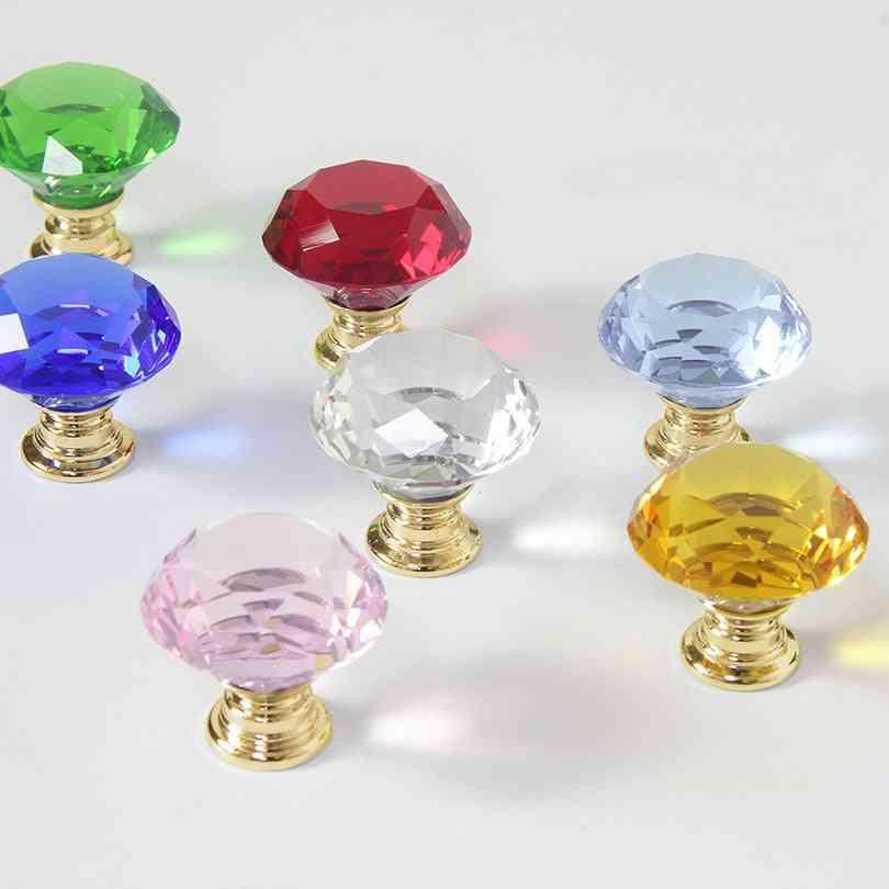 Crystal Glass With Single-hole, Diamond Shape Design