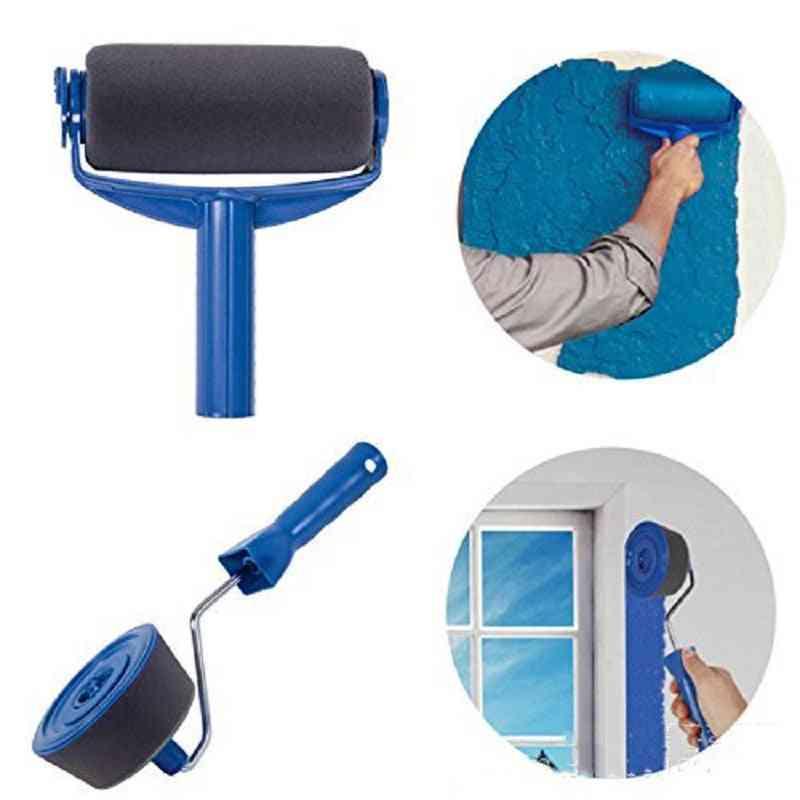 Multi-function Paint Brush Roller, Handle Tool Household - Wall Multifunctional
