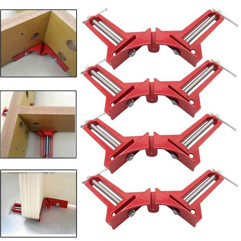 Multi-function Right Angle Clamp For Picture Framing And Wood Working