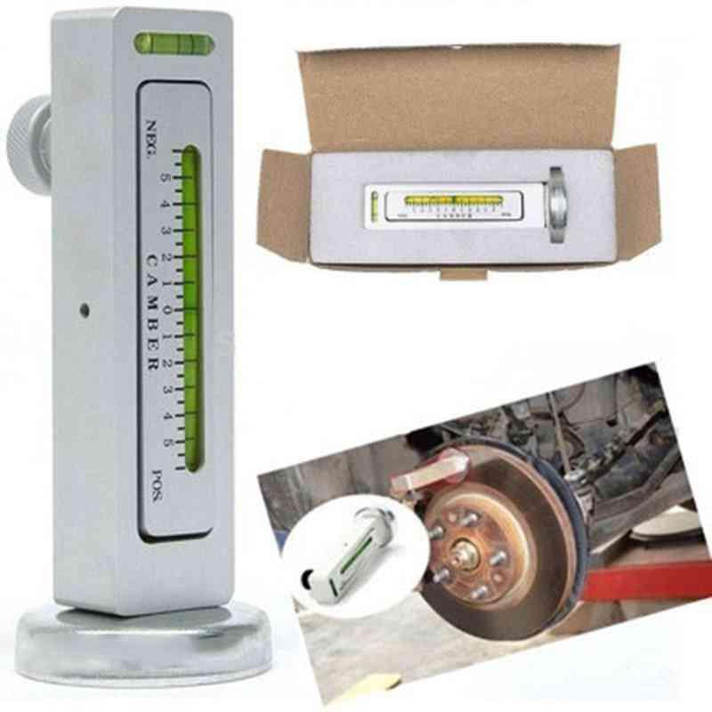 Four Wheel Alignment, Adjustable Magnetic Gauge Tool
