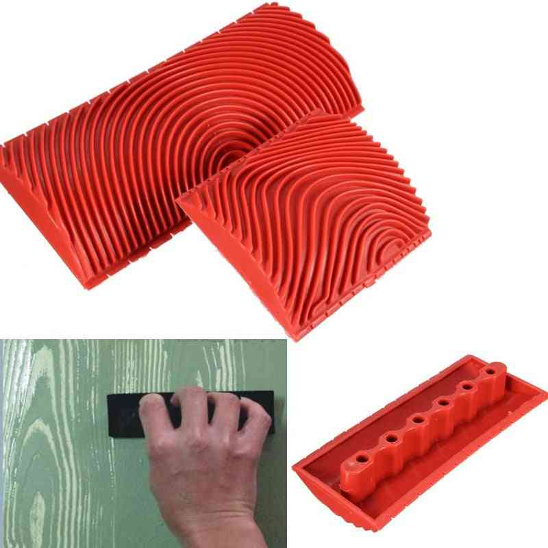Wood Graining Rubber For Painting Effects, Wall Decoration Tools