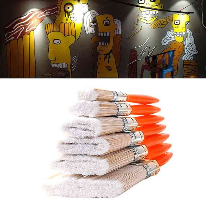 Building Painting Pet  Brushes With Abs Handle