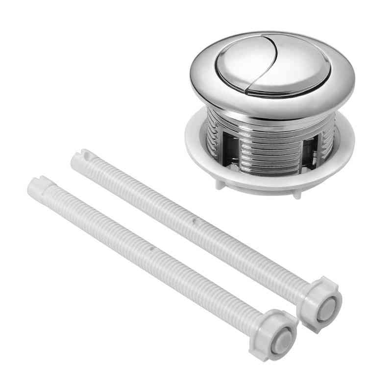 Dual Flush Toilet Water Tank Push Buttons Rods