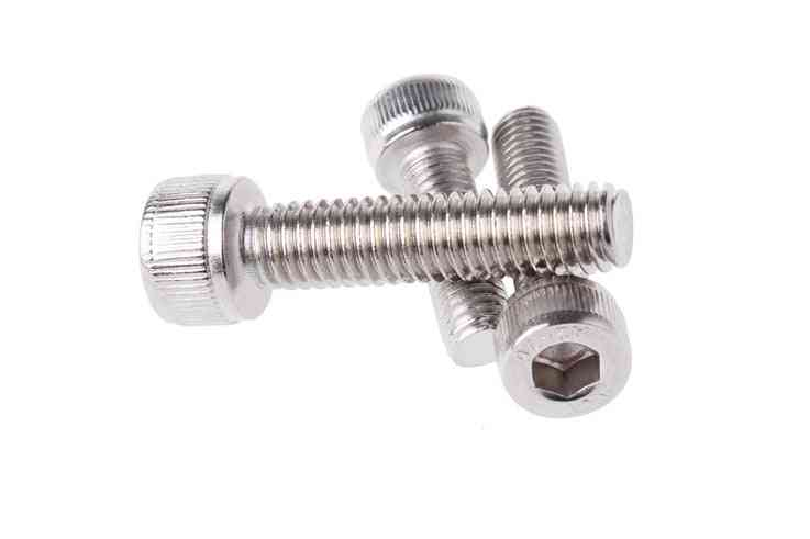 304 Stainless Steel Hexagon Socket Head Cap Screws