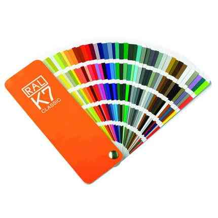 International Standard Color Card Raul - Paint Coatings