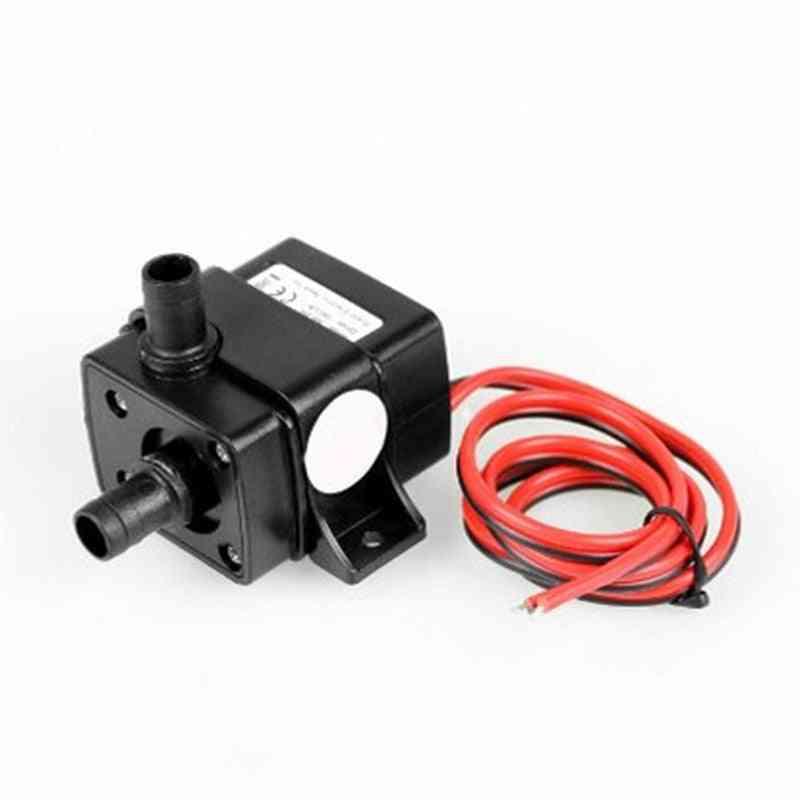 Dc 12v Mini Pump, Submersible Brush Less, Permanent Magnetic Motor