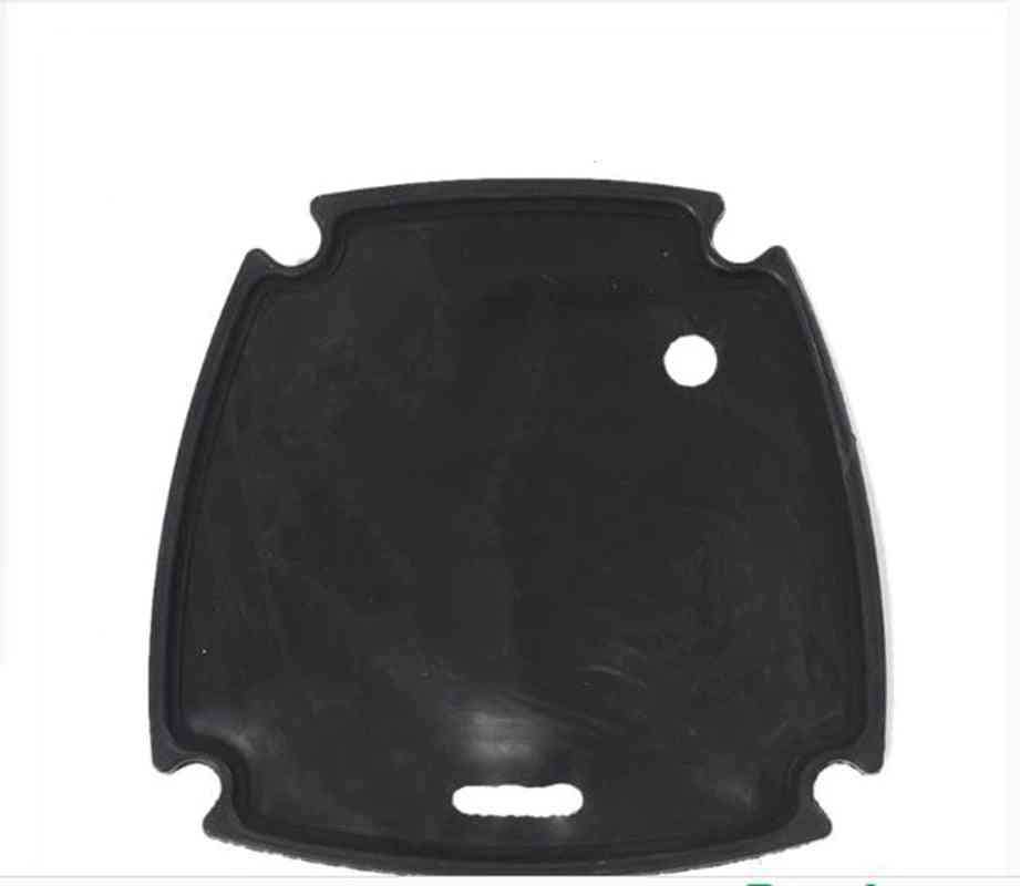 Pcp Single/double, Front Cover Rubber Pad For Cylinder Air Compressor